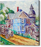 Farmhouse Near Atchison Acrylic Print