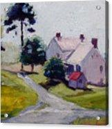 Farmhouse Near Lisburn Road Acrylic Print