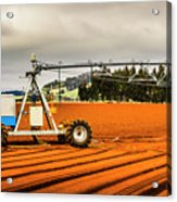 Farming Field Equipment Acrylic Print
