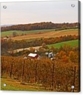 Farming In The Valley Acrylic Print