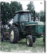 Farming John Deere 4430 Pa 01 Acrylic Print