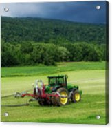 Farming New York State Before The July Storm 02 Acrylic Print
