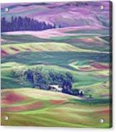 Farmland Colors - No. 1 Acrylic Print