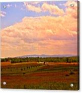Farmland In Gettysburg Acrylic Print