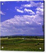 Farmland In Gettysburg Version II Acrylic Print