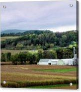 Farmland In Pennsylvania Acrylic Print