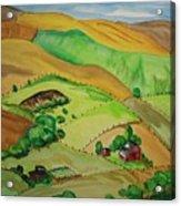 Farmville Acrylic Print