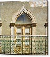 Faro Balcony Acrylic Print
