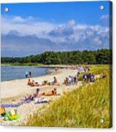 Faro Beach Acrylic Print