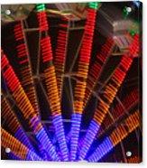 Farris Wheel In Motion Acrylic Print