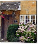 Farthing Cottage Acrylic Print