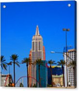 Fascination Las Vegas Acrylic Print