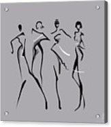 Fashion Abstraction N2 Acrylic Print