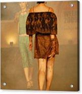 Fashion Catwalk Acrylic Print