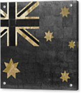 Fashion Flag Australia Acrylic Print