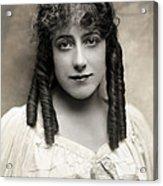 Fashion: Hairstyle, C1910 Acrylic Print