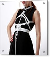 Fashion Style Fine Art Of Bondage Acrylic Print