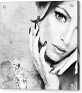 Fashion Woman Acrylic Print