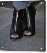 Fashionable Feet Acrylic Print