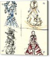 Fashionista 4 Acrylic Print