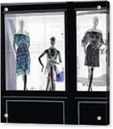Fashionistas Acrylic Print