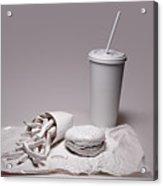 Fast Food Drive Through Acrylic Print