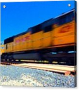 Fast Freight Acrylic Print