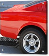 Fastback Mustang Acrylic Print