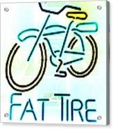 Fat Tire Acrylic Print