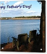 Fathers Day Acrylic Print