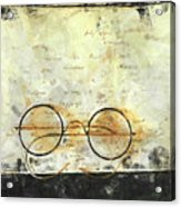 Father's Glasses Acrylic Print
