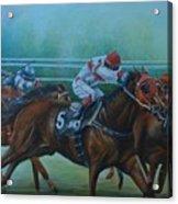 Favorite, Horse Race Art Acrylic Print