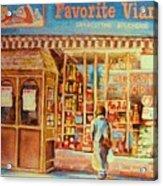 Favorite Viande Market Acrylic Print