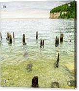 Fayette State Park Shoreline Acrylic Print