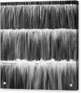 Fdr Memorial Waterfall Acrylic Print
