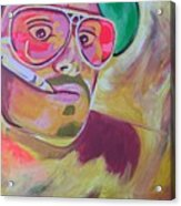 Fear And Loathing  Acrylic Print