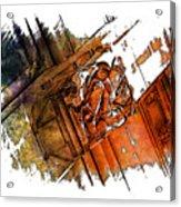 Fear Earthy Rainbow 3 Dimensional Acrylic Print