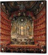 Feast Given By Cardinal De La Rochefoucauld  Acrylic Print