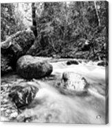 Feather Falls Stream Acrylic Print