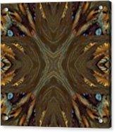 Feather Grace Acrylic Print