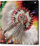 Feathers And Beads Acrylic Print
