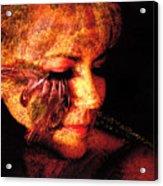 Feathers Of Beauty Acrylic Print