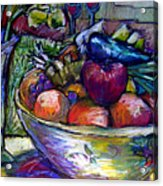February Still Life In Angelinas Kitchen 3 Acrylic Print