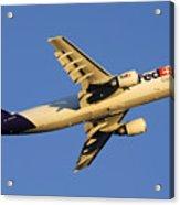 Fedex Airbus A300f4 605r N692fe Phoenix Sky Harbor December 23 2010 Acrylic Print