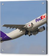 Fedex Airplane Acrylic Print
