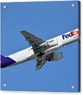 Fedex Express Boeing 757-230 N998fd Phoenix Sky Harbor January 19 2016  Acrylic Print