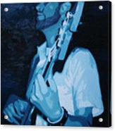 Feelin' The Bass Acrylic Print
