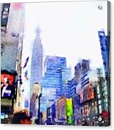 Feeling New York Acrylic Print
