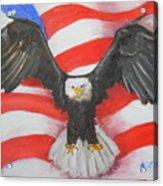 Feeling Patriotic Acrylic Print