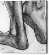 Feet Acrylic Print